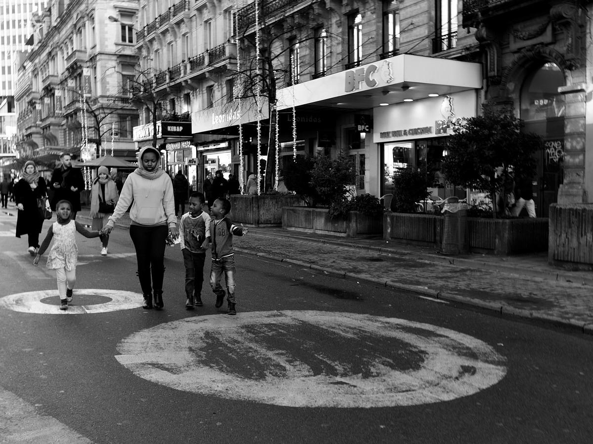 Straatfotografie Brussel
