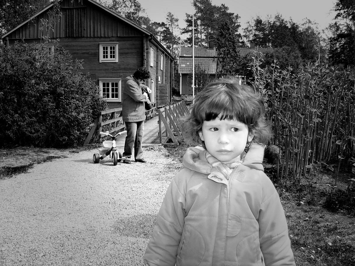 Straatfotografie op het platteland