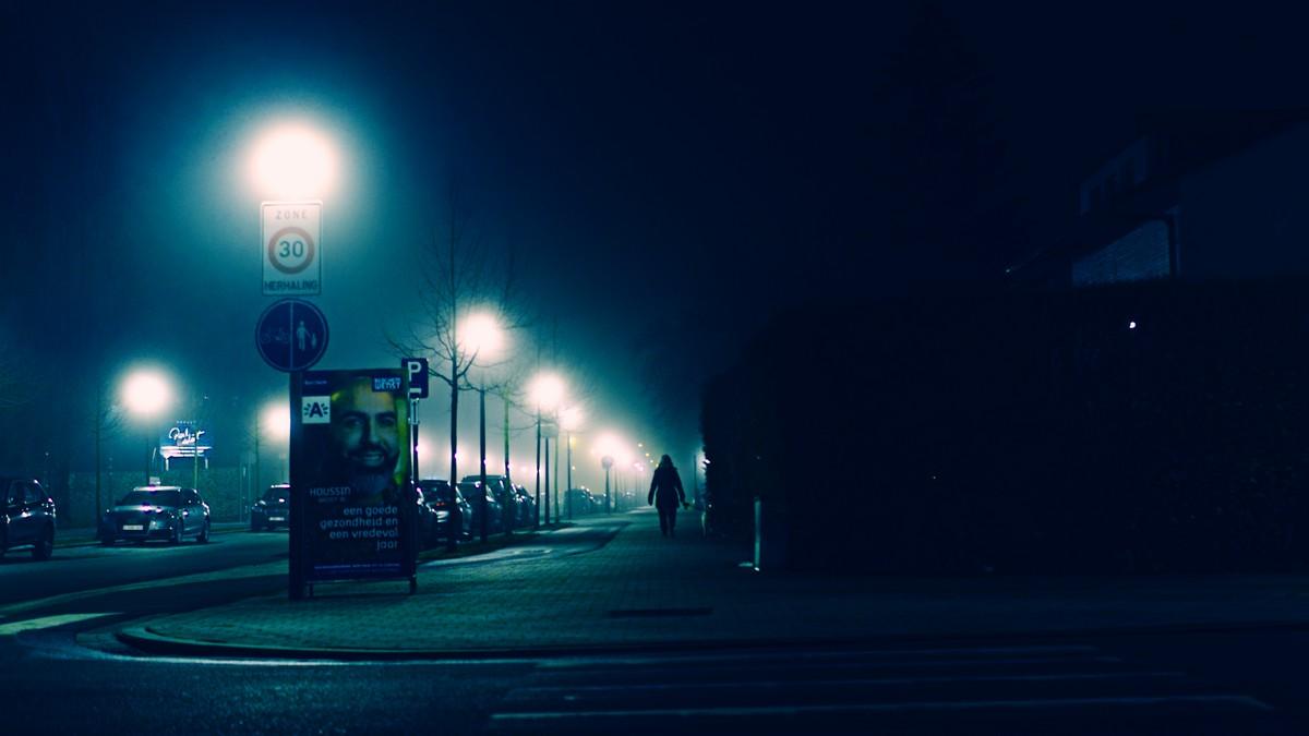 Straatfotografie bij nacht