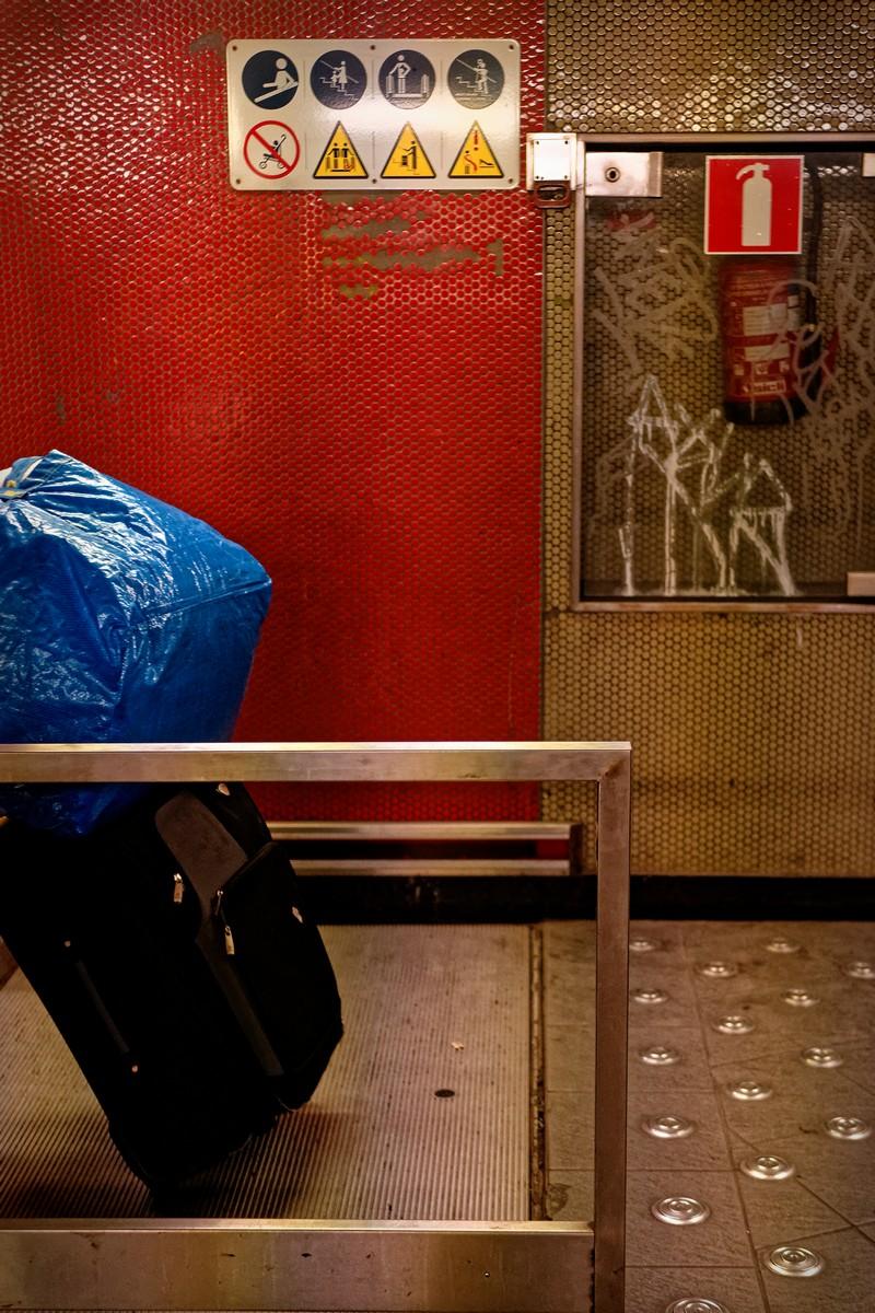 Straatfotografie Brussel Metro - Marc Pennartz