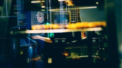 Reflecties in straatfotografie